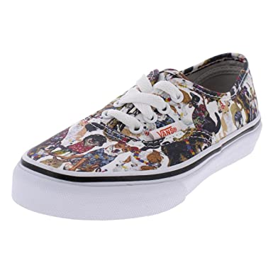 931c97745b Vans Boys ASPCA Dogs Cats Skate Shoes White 1 Medium (D) Little Kid   Amazon.co.uk  Clothing