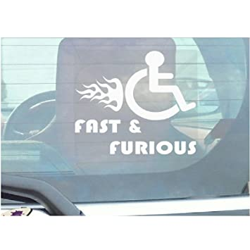 Disabled Car Stickers Funny