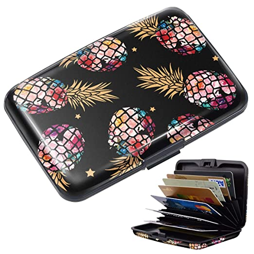 new styles 0622b 39be0 Credit Card Holder for Women, RFID Blocking Slim Hard Mini Credit ...