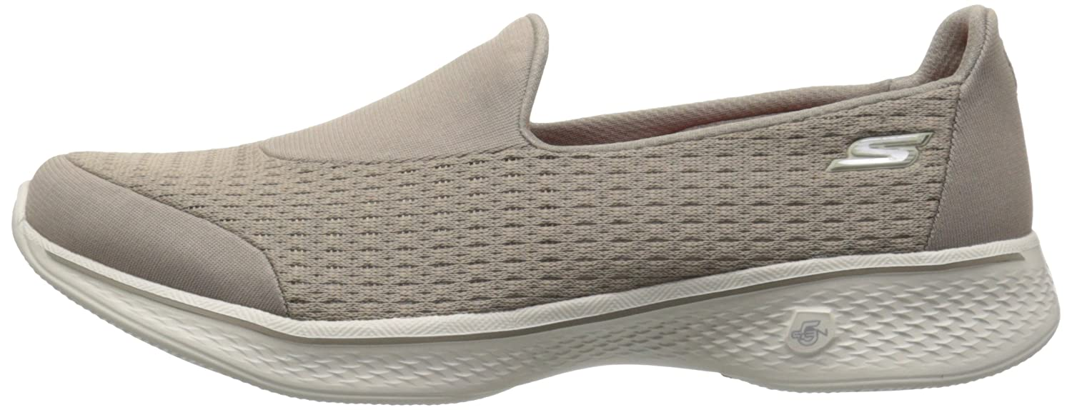 Skechers Walk Damen Go Walk Skechers 4-Pursuit Sneaker Beige (Tpe) 8d68be
