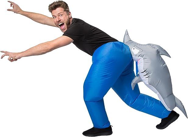 TecTake dressforfun Disfraz de tiburón Inflable Adulto | Funciona ...