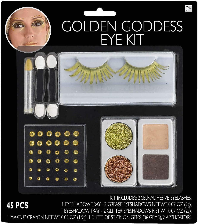 amscan Golden Goddess Eye Kit   1 Pc.