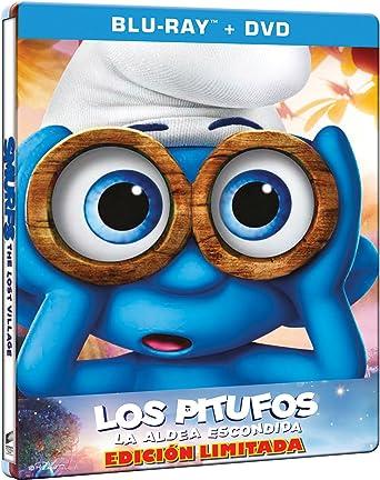 Los Pitufos: La Aldea Escondida Edición Especial Metálica ...