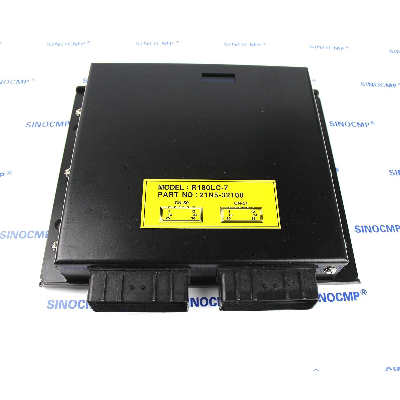 Amazon.com: Controller 21N5-32100 - SINOCMP Programmed CPU for Hyundai  Robex 180LC-7 R160LC-7 R180LC-7 Crawler Excavator Machine Control Unit, ...