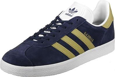 adidas gazelle bleu doree