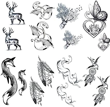 Amazon.com  Sumperth Removable Waterproof Temporary Tattoo