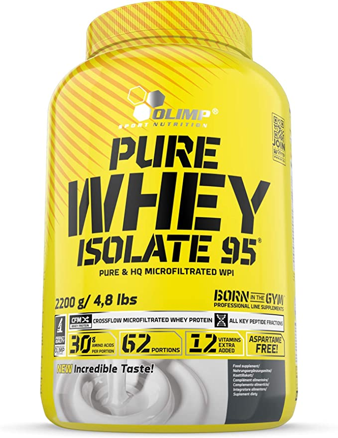 Olimp Sport Nutrition Pure Whey Isolate 95 con Sabor Chocolate - 2.2 kg