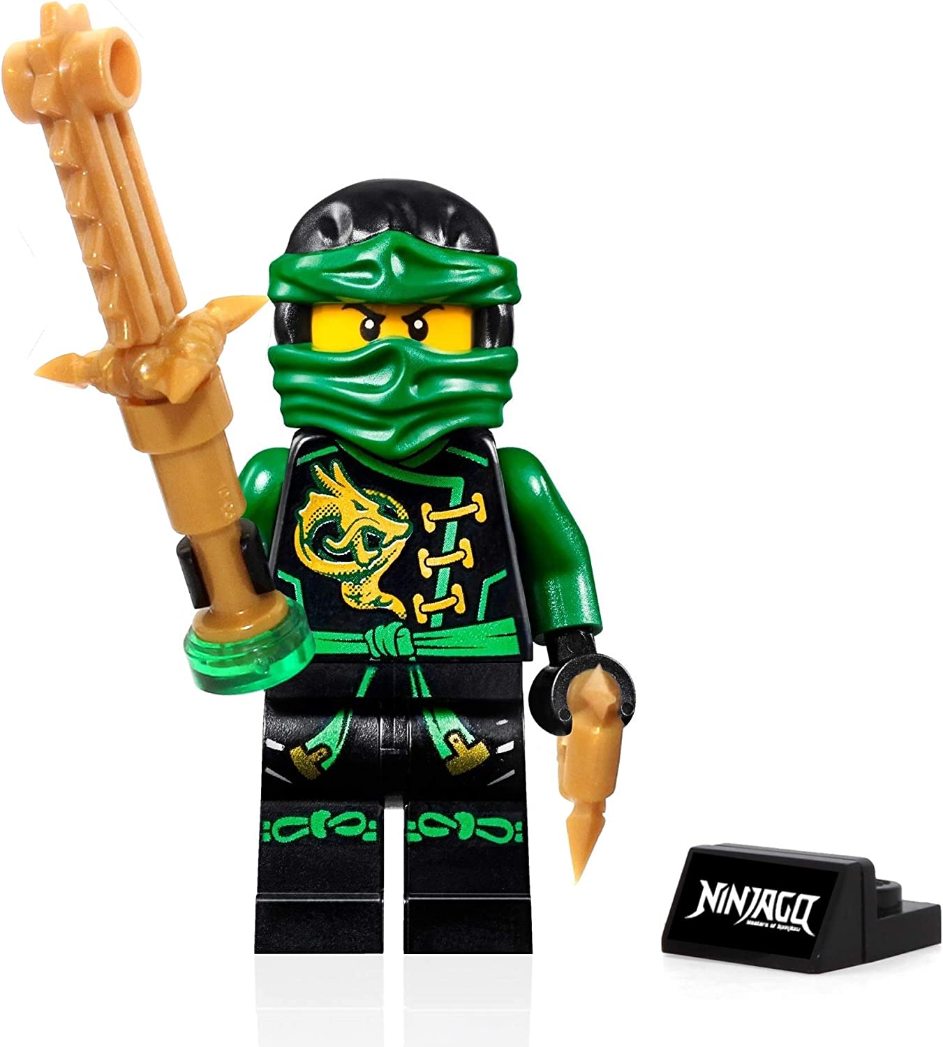 LEGO Ninjago Skybound Minifigure - Lloyd (Sky shark) with Gold Weapon 70601