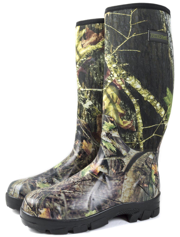 Nitehawk Bottes de pluie en néoprène - pour la pêche la chasse la  boue l agriculture - camouflage  Amazon.fr  Sports et Loisirs 2067574850fd