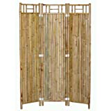 1PerfectChoice Handcrafted 3 Panel Outdoor Bamboo