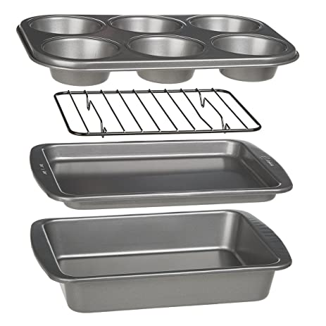 Amazon Ecolution Toaster Oven Bakeware 4 Piece Set