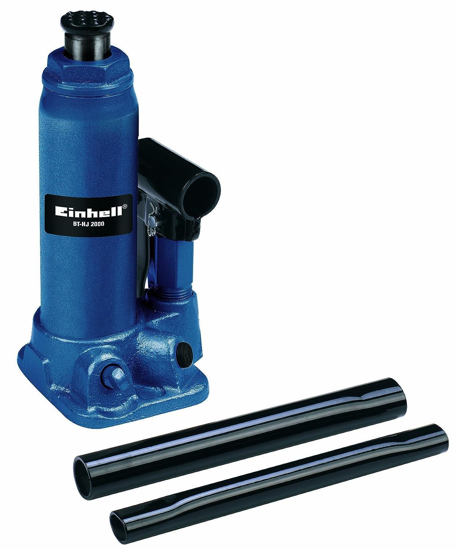 Einhell BT-HJ 2000 - Gato hidráulico para coche de hasta 2000 kilos, color azul