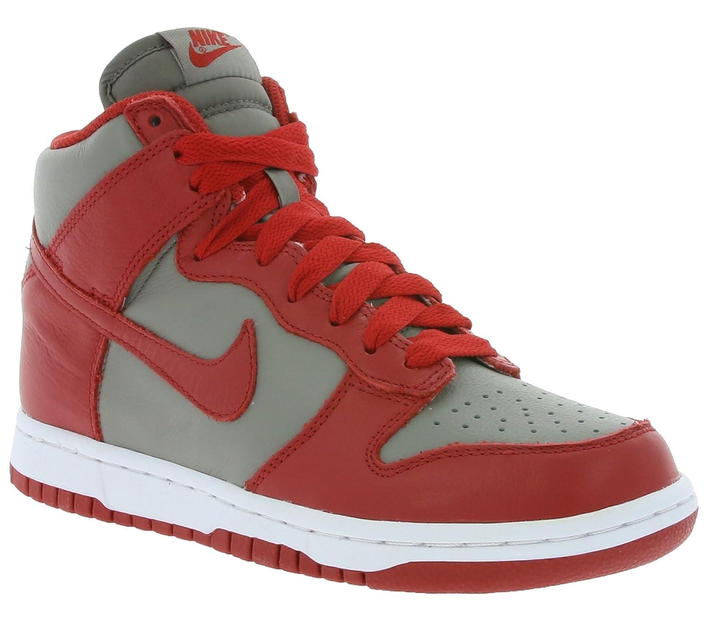 gris (gris Doux   Rouge Université) Nike WMNS Dunk Retro QS, Chaussures de Sport Femme 40 EU