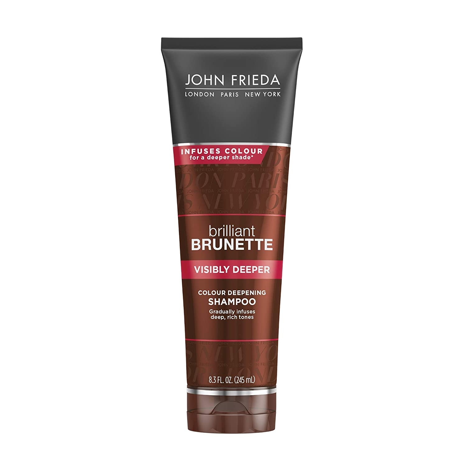Amazon.com: John Frieda Brilliant Brunette Visibly Deeper Color Deepening  Shampoo, 8.3 Ounce, with Evening Primrose Oil, Infused with Cocoa: Beauty