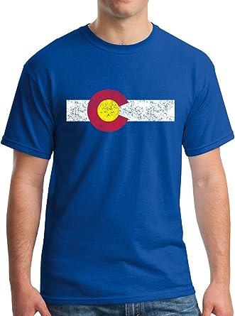 Excellent Amazon.com: New York Fashion Police Colorado State Flag T-Shirt  OY52