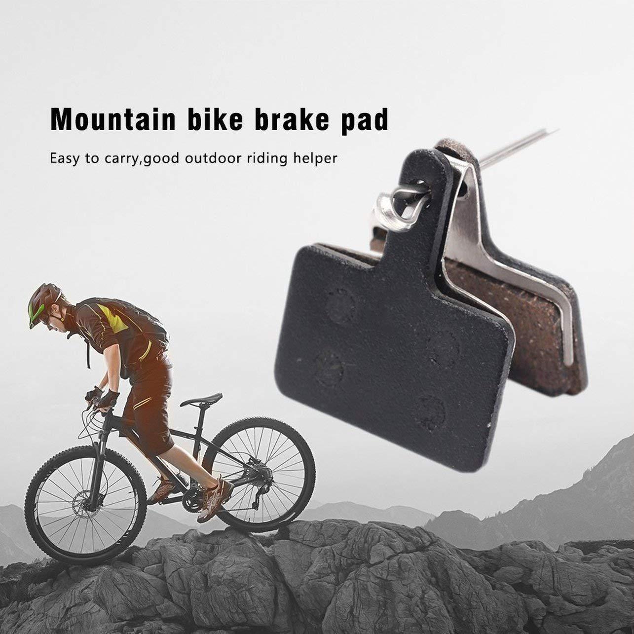 2x Bicycle Resin Disc Brake Pads For Shimano M375 M395 M416 M445 M446 M485//