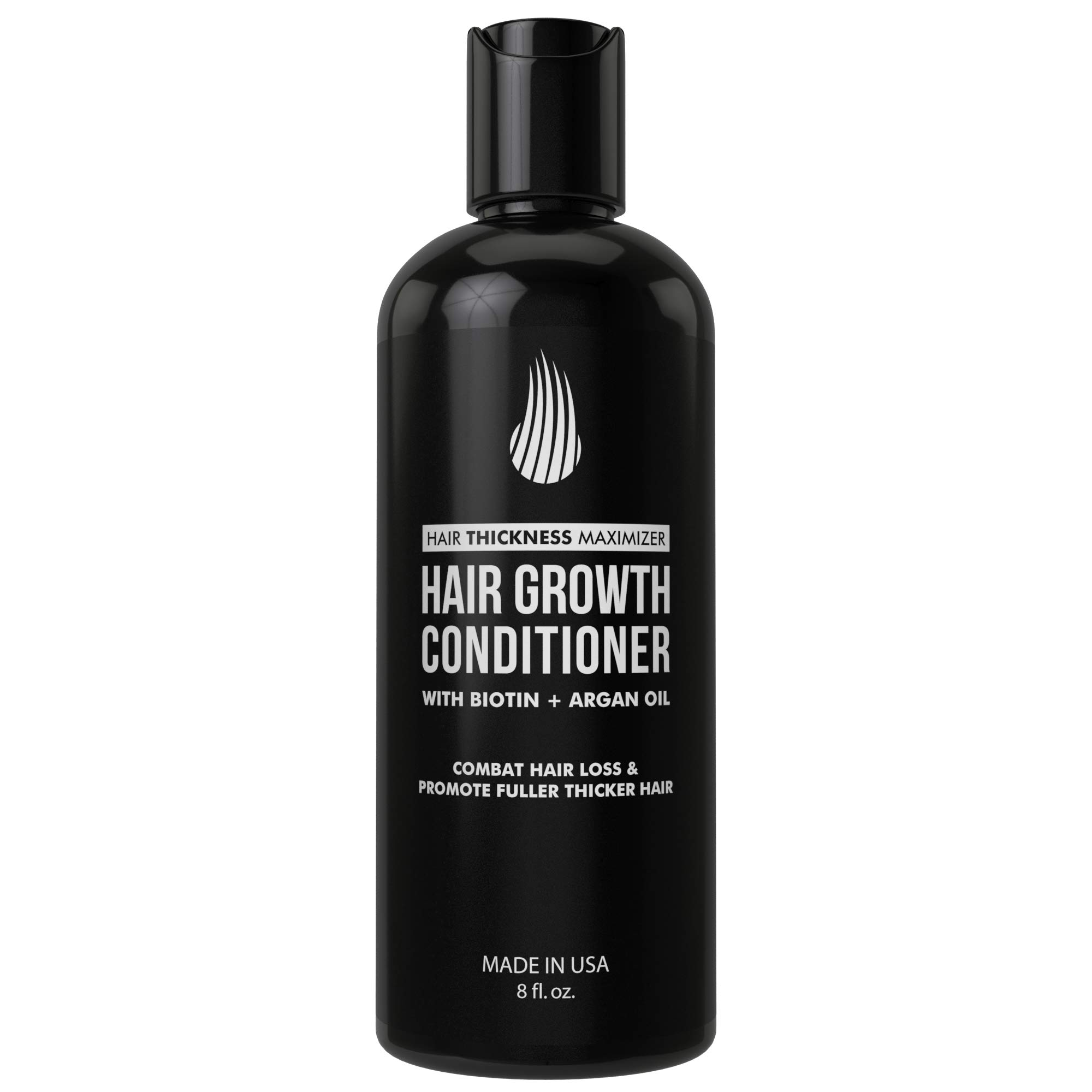 Biotin Conditioner For Thinning Hair And Hair Loss by Hair Thickness Maximizer. Hair Thickening Conditioner for Maximum Hair Growth. Best Hair Loss Treatment For Men and Women. With Argan Oil by Hair Thickness Maximizer