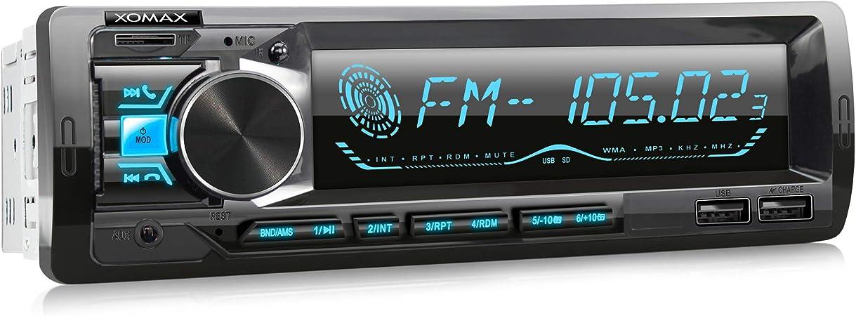 Xomax Xm R279 Autoradio Mit Fm Rds Bluetooth Elektronik