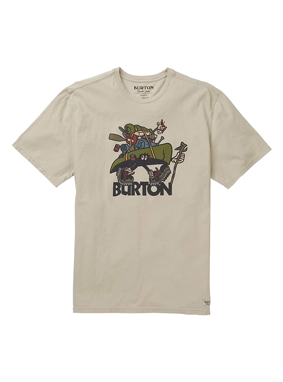 Burton Men's Bronn Short Sleeve Tee, Castle Rock, Large