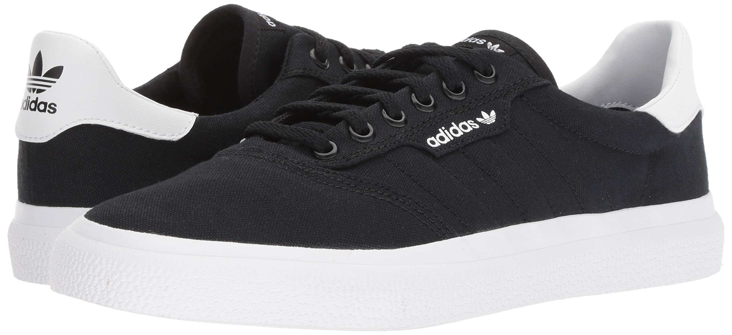 adidas Originals unisex-adult Black/White, 3 MC Skate Shoe 6.5 M US by adidas Originals (Image #6)
