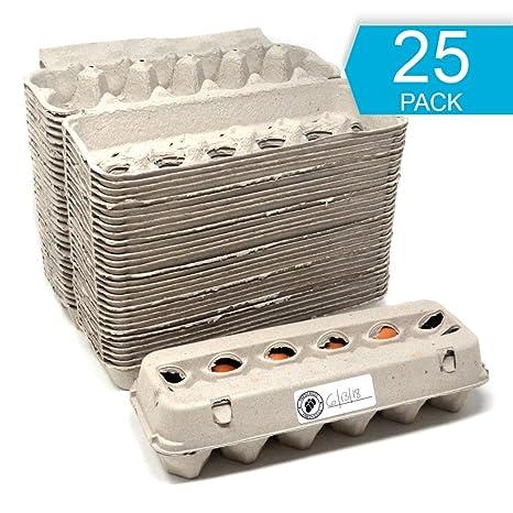 Amazon.com: Paquete de 25 cajas de huevos – Etiquetas ...