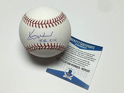 e2ea3bc9 Kerry Wood Signed Major League Baseball MLB *Cubs