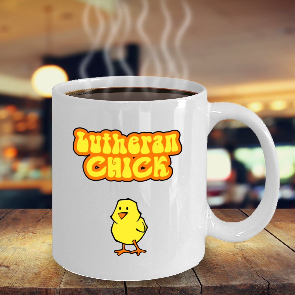 Lutheran Chick Gift Coffee Mug