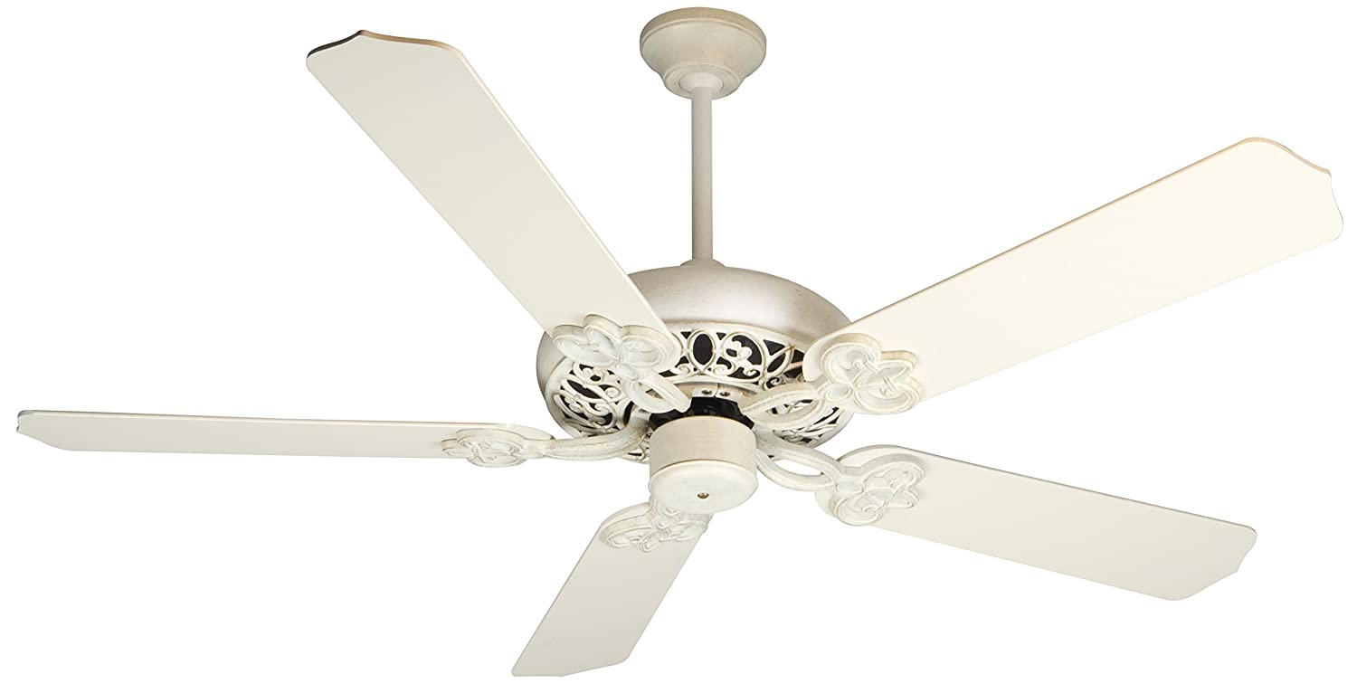 Craftmade cc52awd cecilia 52 ceiling fan in antique white motor craftmade cc52awd cecilia 52 ceiling fan in antique white motor only antique ceiling fan amazon aloadofball Image collections
