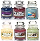 Official Yankee Candle Classic Selection Box Gift Set Of 6 Signature Small Jars