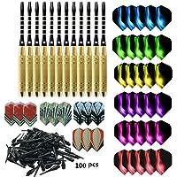 cdsnxore Dardos electrónicos con Punta de plástico para Dardos electrónicos, Dardos Profesionales Suaves 18g
