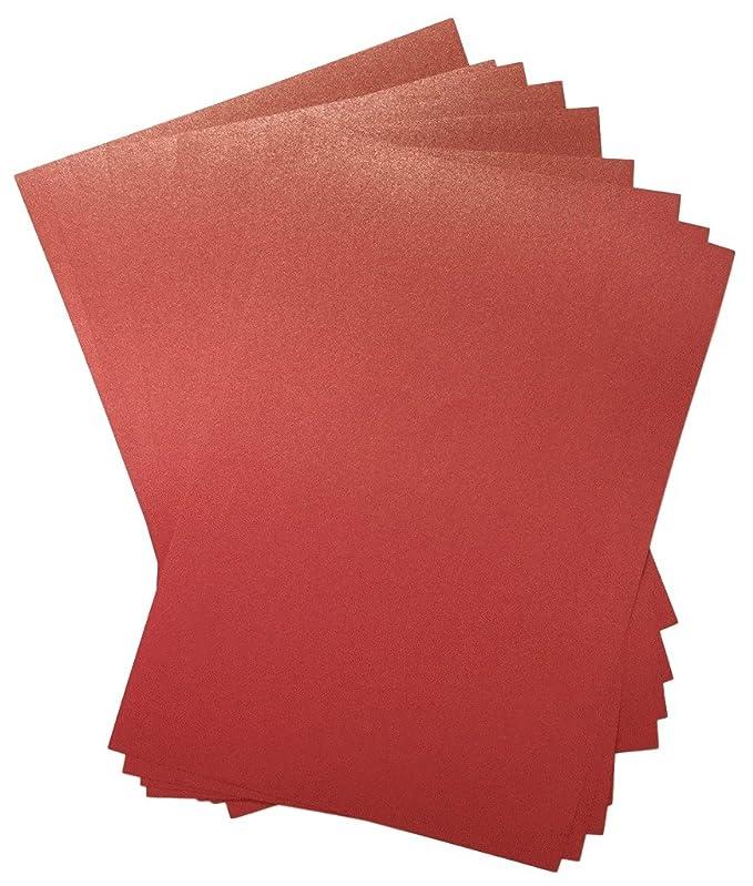 20/x A4/EMPORERS rot Herzblume Majestic Perlglanz-Papier doppelseitig 120/g//m/² geeignet f/ür Inkjet und Laser Drucker