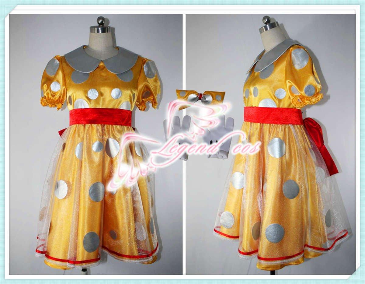 東京ディズニーリゾート(TDR)★30周年 ミニー☆コスプレ衣装 B00V849A5S