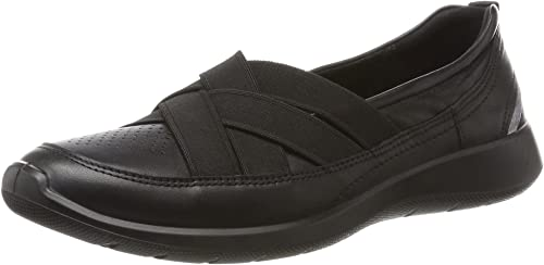 Sneaker schwarz NEU Ecco SOFT 5 Damenschuhe Halbschuhe