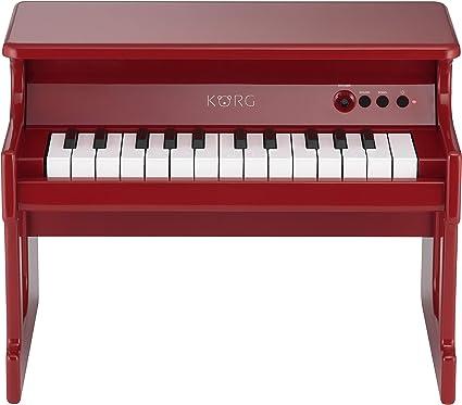 Korg TINYPIANO RD Piano digitale, giocattolo, colore rosso