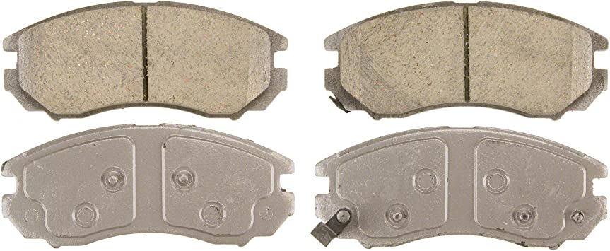 Disc Brake Pad Set-ThermoQuiet Disc Brake Pad Front Wagner QC1589