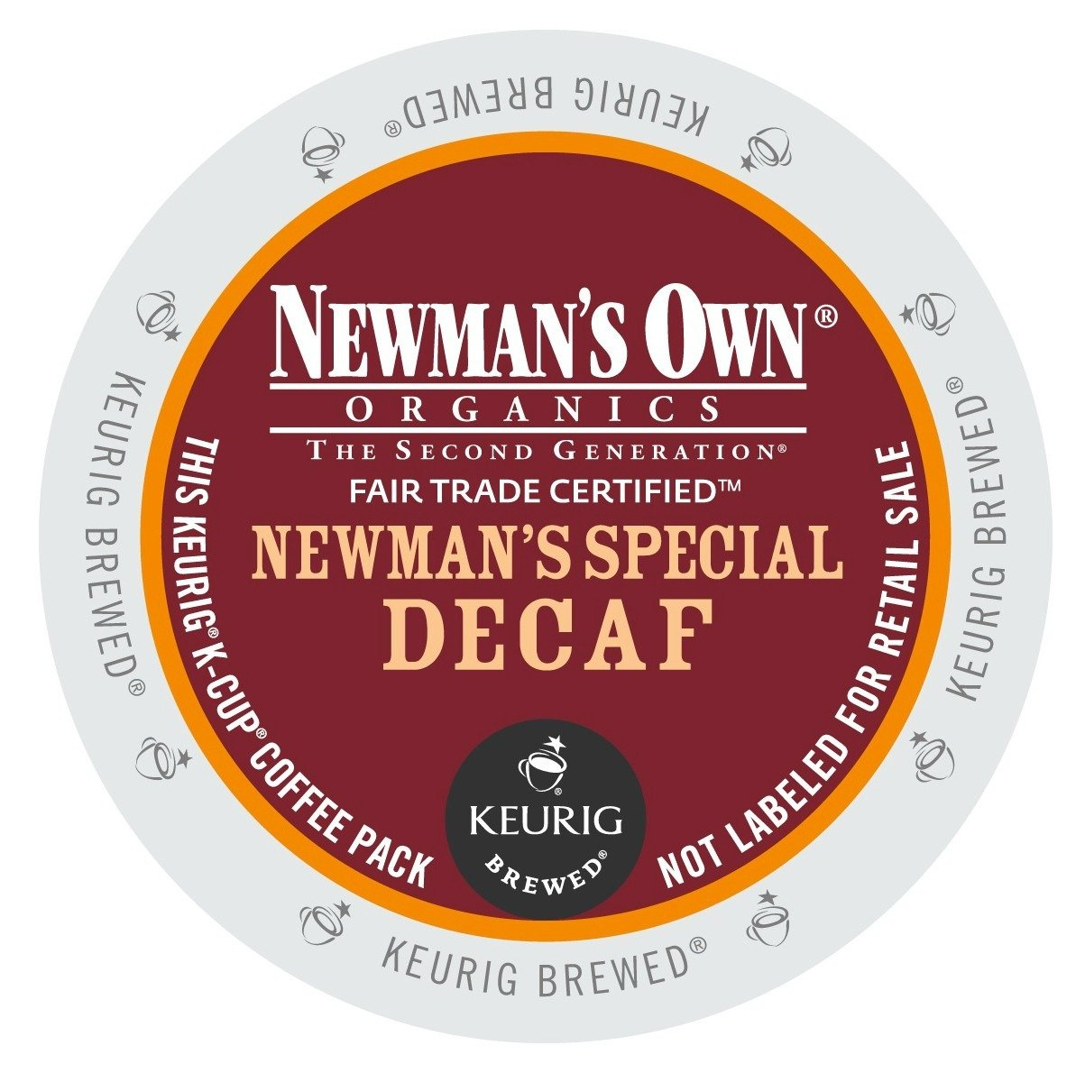 Green Mountain Coffee Newman's Special Decaf K-Cup Portion Pack For Keurig K.. 18