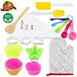 BARLEY 40 Piece Cupcake Silicone Baking kit