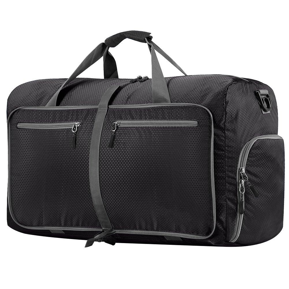 Travel Duffel Bag WZTO 45L/65L/100L Foldable Duffel Bag Waterproof Lightweight