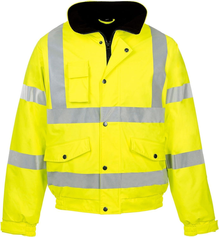 Fast Fashion Mens Manteau De S/écurit/é V/êtements De Travail Veste Imperm/éable Temp/ête Rainsuit Hi Viz