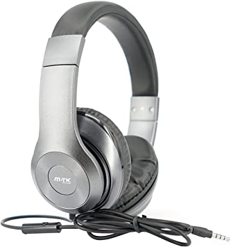 MTK® Auriculares con Micrófono Estéreo Auriculares Cerrado Juegos Headphone para Smartphone Iphone Tablet PC Games Notebook K3407N: Amazon.es: Electrónica
