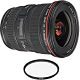 Canon EF 17-40mm f/4L USM Lens with Pro Filter (Renewed)