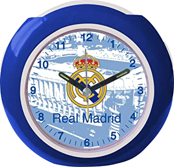Seva - Despertador con himno de Real Madrid (9102100): Amazon.es: Juguetes y juegos