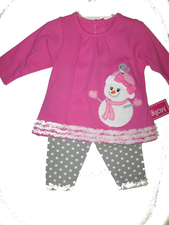 Baby Girls Molly /& Millie Snowlady Set