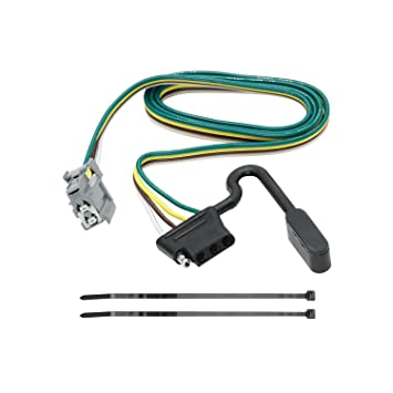 713WtP0o5FL._SY355_ amazon com tekonsha 118264 4 flat tow harness wiring package wiring harness for flat towing at gsmx.co
