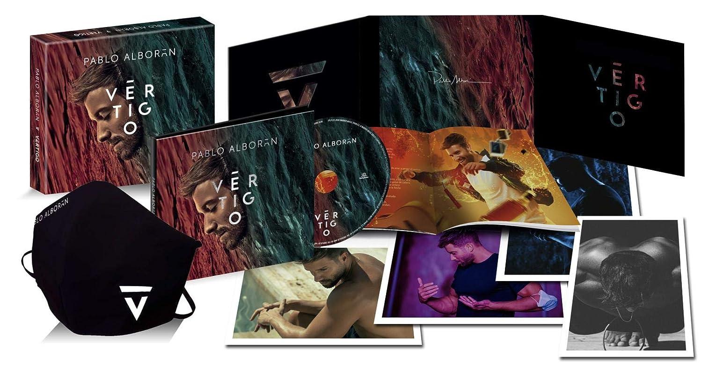 Pablo Alborán - Vértigo (Cd Box Deluxe)Cd + Vinilo 180 gr + Libro De Fotos + Calendario 2021 + 10 Láminas + Mascarilla Y Popsocket