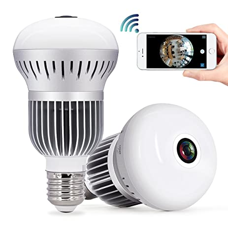 Amazon security camera bulb wifi system tecbillion updated security camera bulb wifi system tecbillion updated version home security camera light aloadofball Images