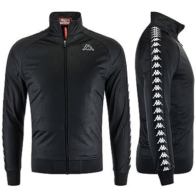 Et Sport Vêtements Kappa De Noir Homme Veste Noir f04WcqCROB
