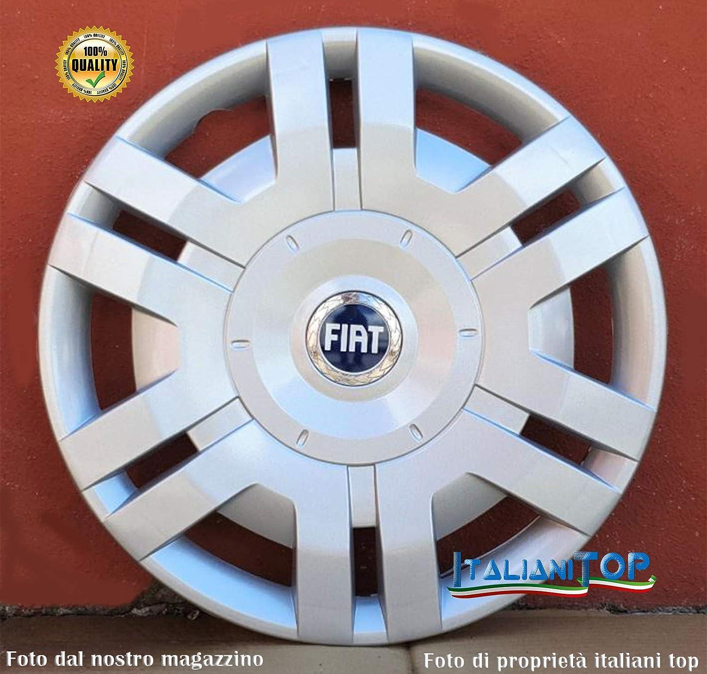 Generico Fiat Stilo 2 COPRICERCHI Borchie Diametro 15 CODICE 1250 Due Prodotto Nuovo