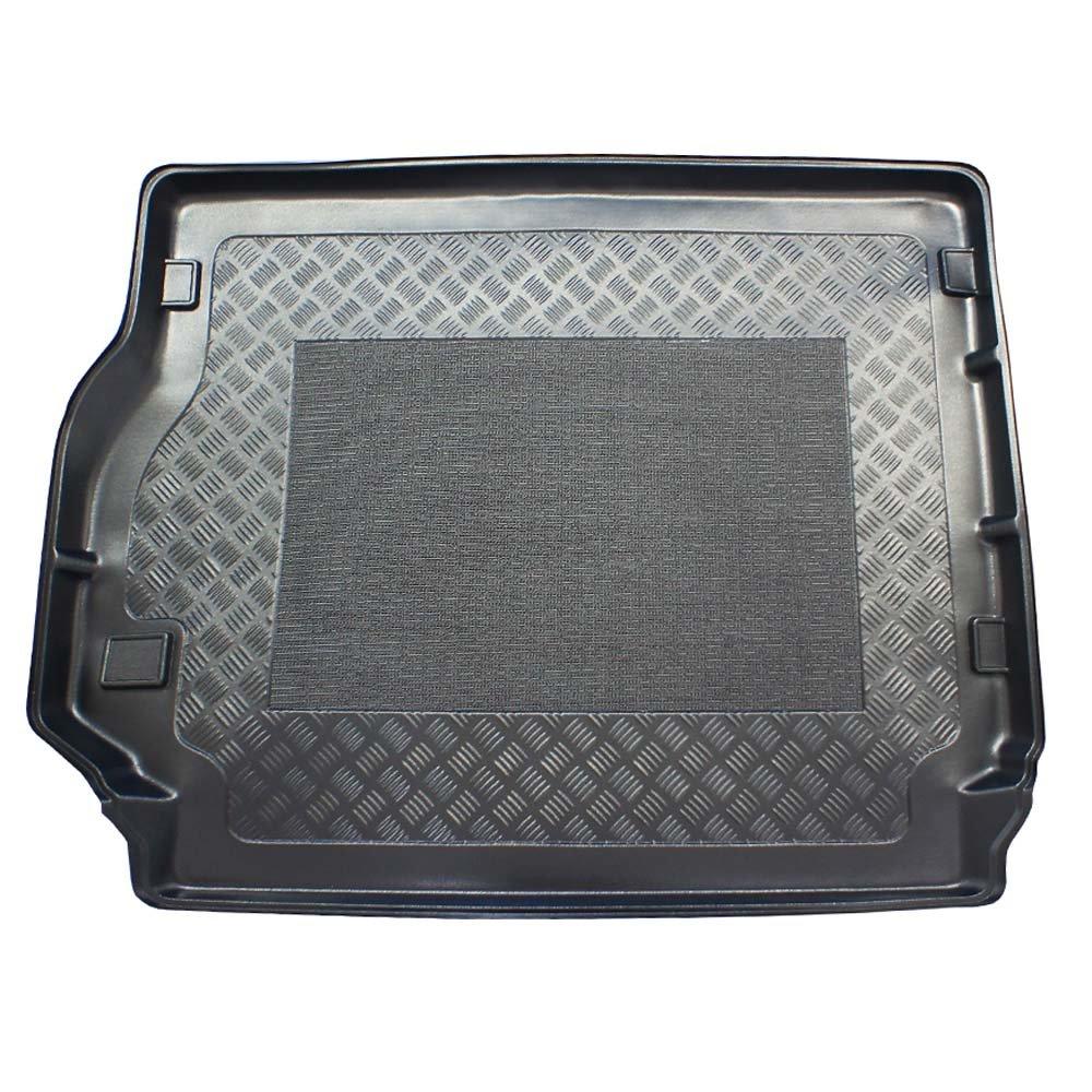 ZentimeX Z903526 Vasca baule su misura con superficie scanalata e integrato tappeto antiscivolo