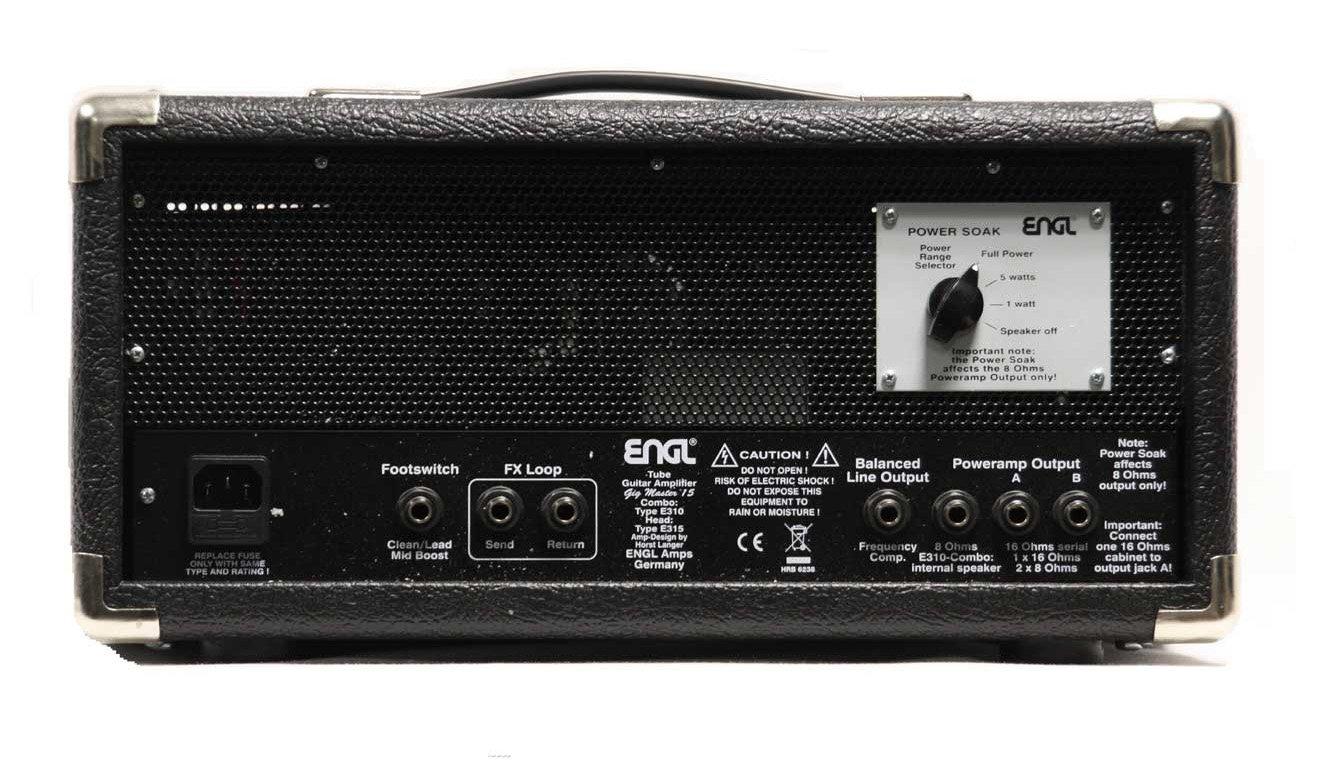 ENGL Gigmaster Head E315 - Amplificador para guitarra eléctrica (15 W): Amazon.es: Instrumentos musicales